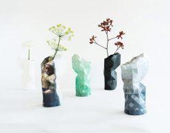 Paper vase by Pepe Heykoop - water-resistant paper