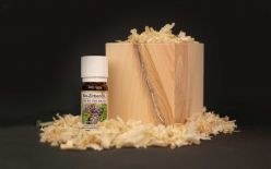 Swiss stone pine cubes with organic Swiss stone pine oil