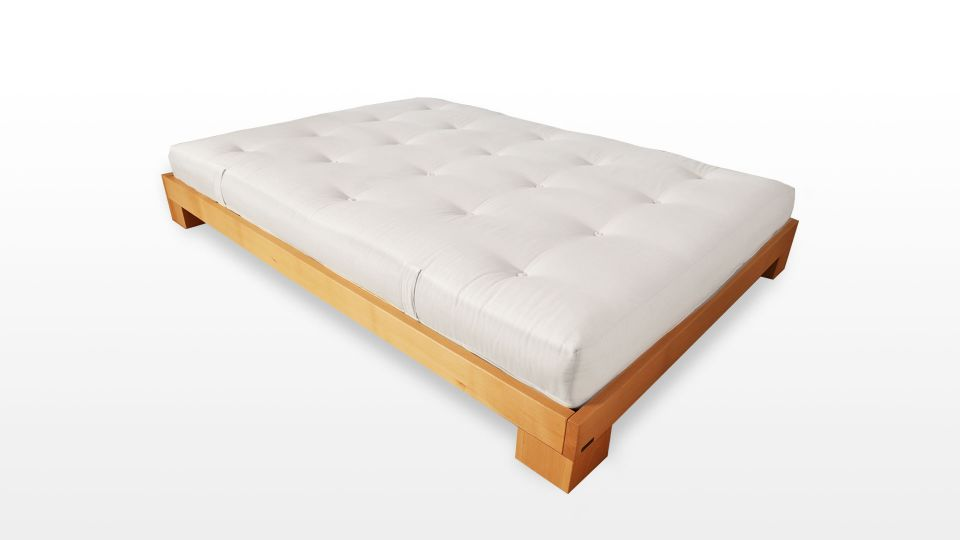 Bed Cube - Sturdy solid wood bed for any futon.