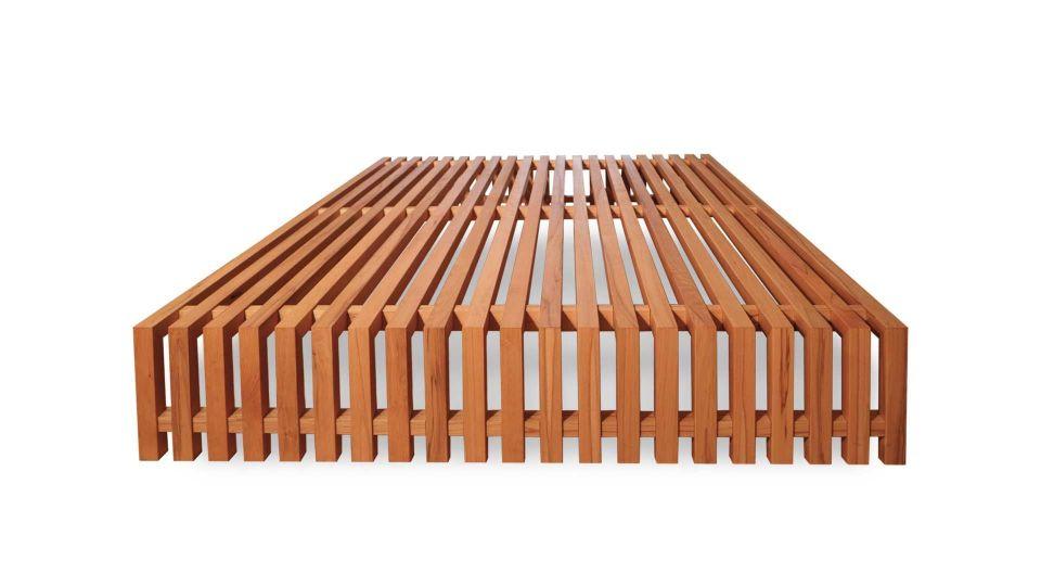 Bed Designeo, Wood type Heartwood Beech