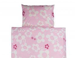 Bed linen flower, rosa