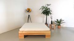 Bed frame in core ash (futon not included in the price)