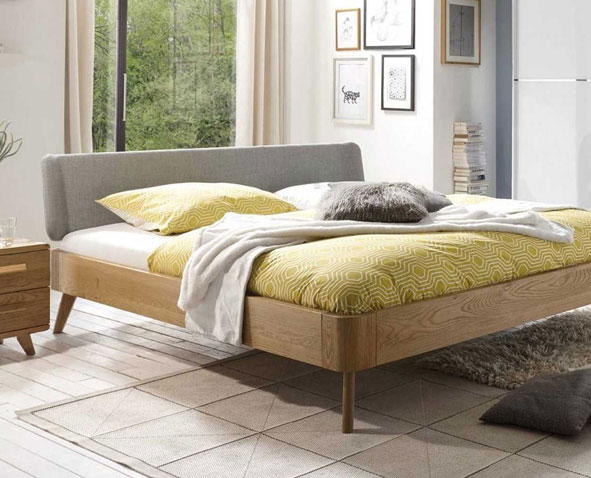 Solid wood beds nature
